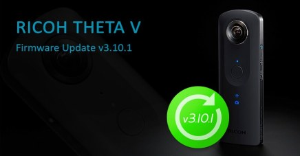 New firmware update v3.10.1 for RICOH THETA V!