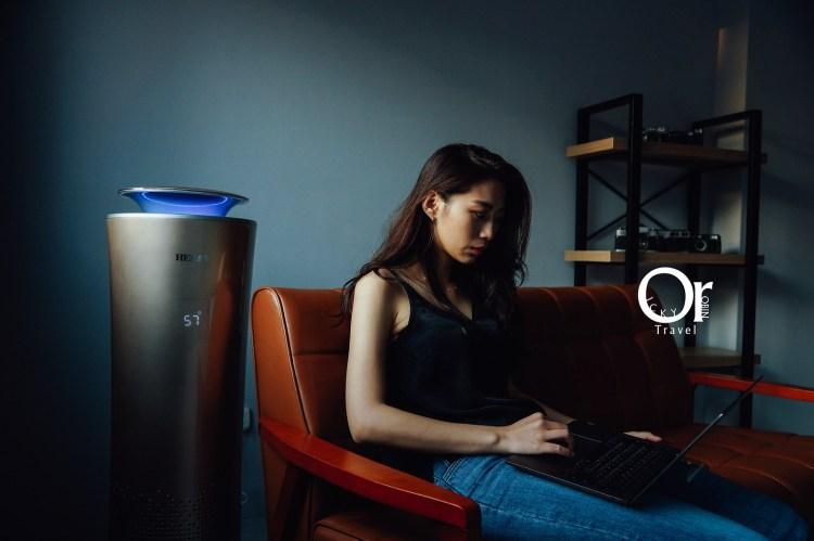 空氣清淨機開箱|HERAN 智能懸浮式多重偵測空氣清淨機,可遠端透過 APP 智能操控,360度清淨環繞搭配負離子、活性碳,潔淨 PM2.5 的髒空氣,禾聯空氣清淨機/智能清淨機