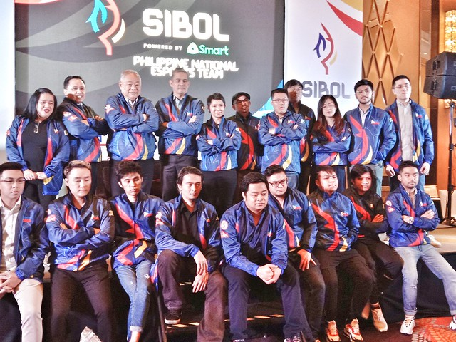 Sibol and Smart for SEA Games