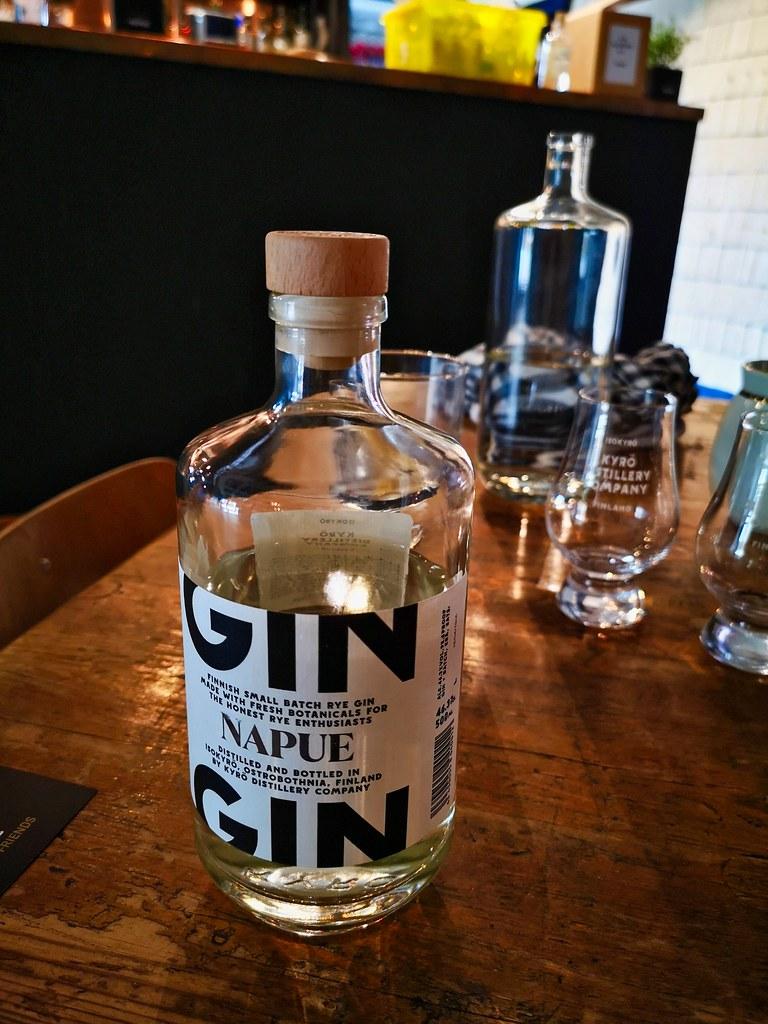 De Napue Gin ... fris, fruitig en zomers