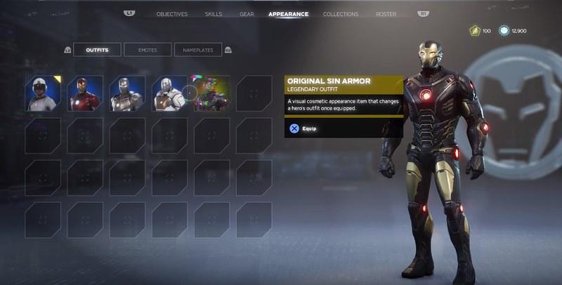 Marvel's Avengers - Costumes Iron Man