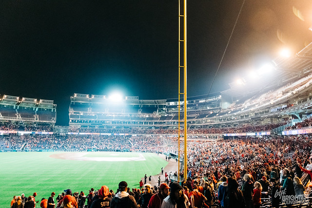 Nationals Park Celebration