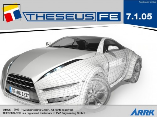 THESEUS-FE 7.1.5 full license