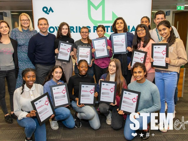 Stemettes Agile Academy @ QA
