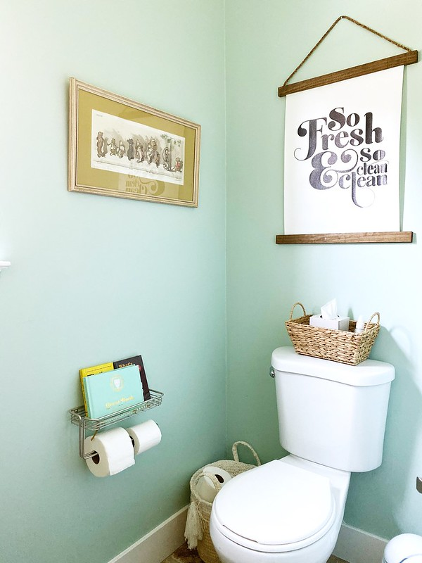 Powder room updates