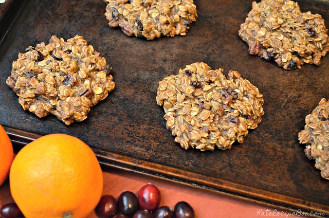 Cranberry Orange Breakfast Cookies 2