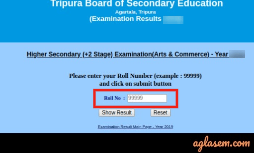 TBSE HS Result 2020
