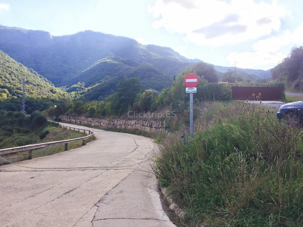 Ruta al Salt del Roure (Joanetes) Vall d'en Bas | ClickTrip - Rutas por la Garrotxa