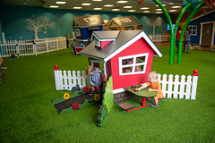 Life Church Indoor Play Area by ForeverLawn Tennessee