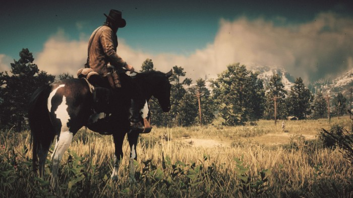 Arthur Morgan and Boah