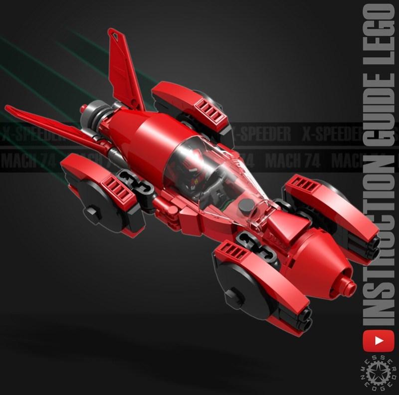 X-Speeder Mach74 - Instruction guide Flckr