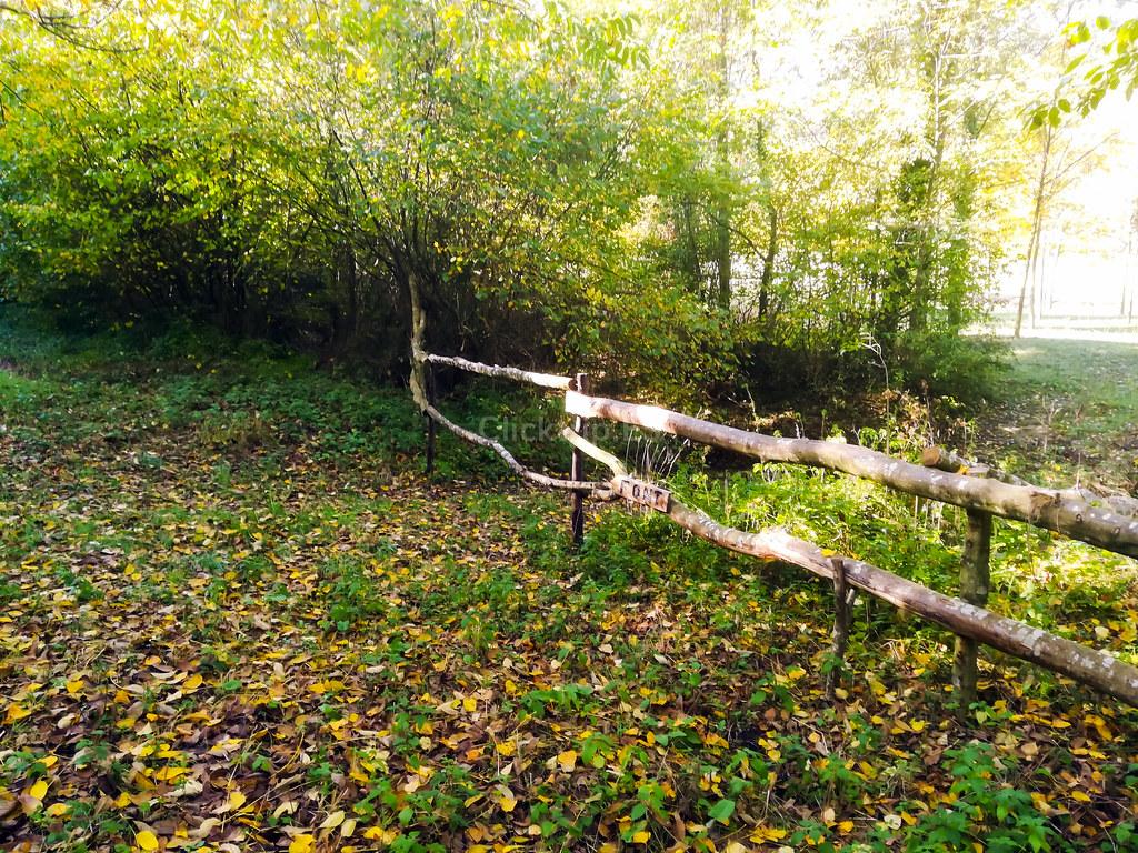 Señal de madera con el texto FONT que nos indica el camino a seguir hacía la Font de les Fogoses | Click_Trip