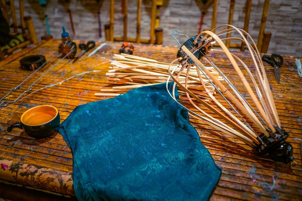 Silk for the Hoi An Lanterns