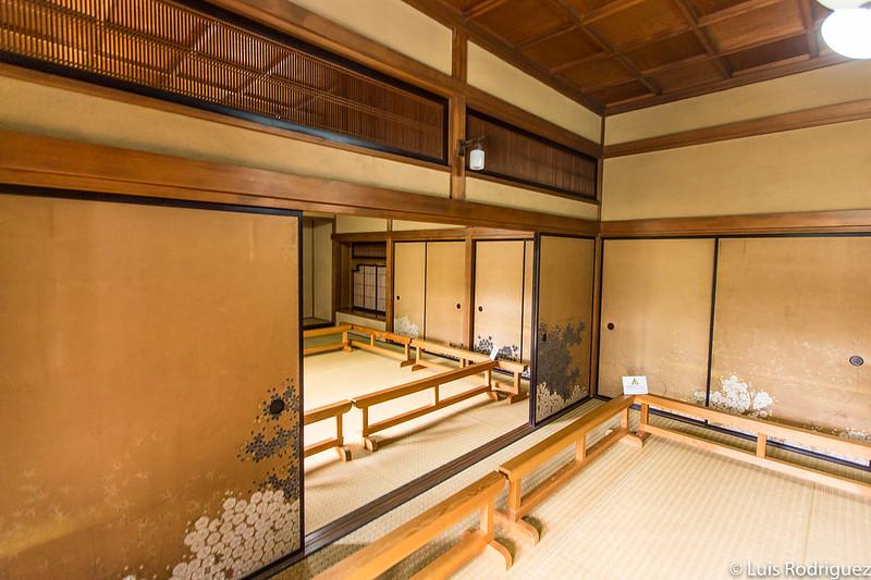 Intérieur de l'ancienne résidence Asakura