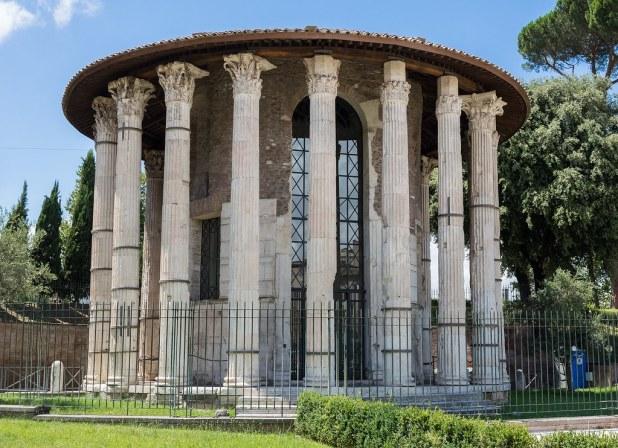 Templo de Hércules Víctor en Roma