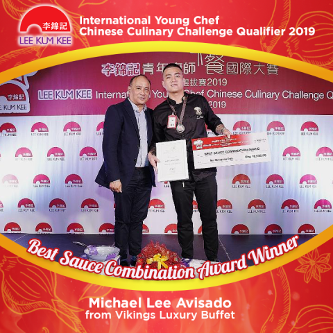 Lee Kum Kee IYCCCC Winner Michael Lee Avisado from Vikings Group