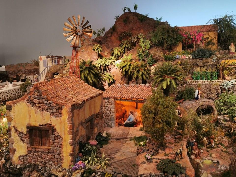 Nacimiento Entre Riscos y Palmeras 2019 Ambito Cultural El Corte Inglés Las Palmas de Gran Canaria 02