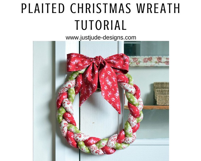 plaited wreath tutorial