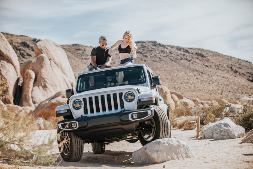 Jeep Blugraphy Commercial Shoot