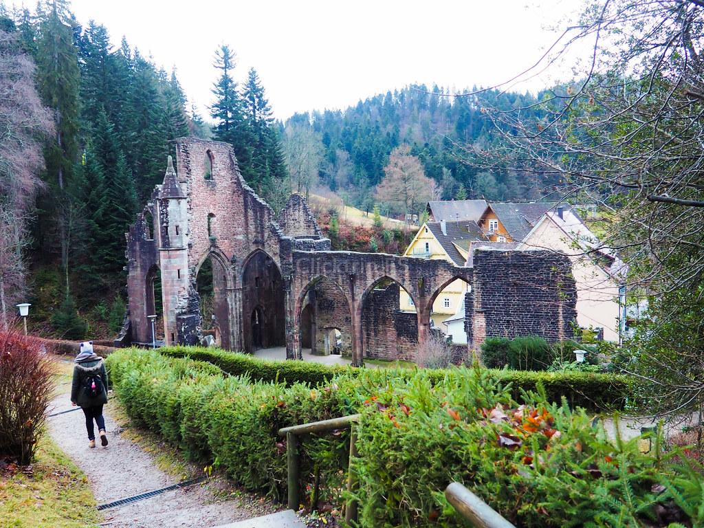 Ruinas del Monasterio de Allerheiligen - Klosterhof Allerheiligen Selva Negra_ClickTrip