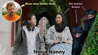 Ninja Nanny auf KiKa