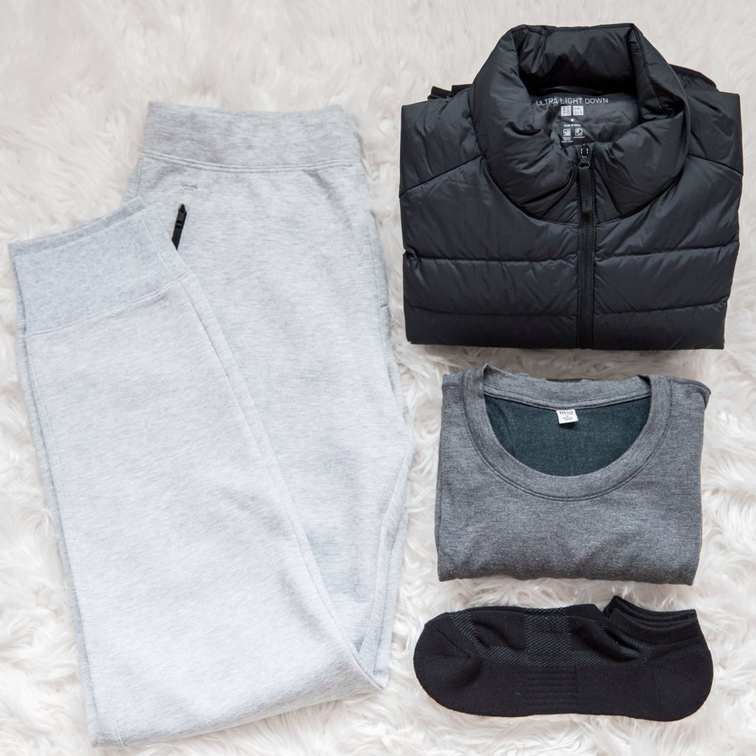 MINIMAL TRAVEL WARDROBE FOR WINTER - UNIQLO HEATTEACH COLLECTION