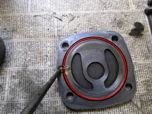 Oil Applied to Oil Pump Cover O-ring