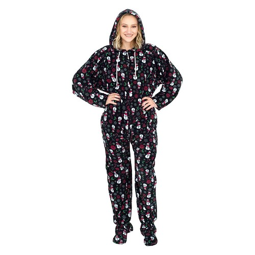 Christmas Adult Onesie Pajama Review @uglyXsweater @SMGurusNetwork #HGG19 #MySillyLittleGang