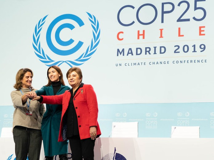Welcome to staff and volunteers at COP 25