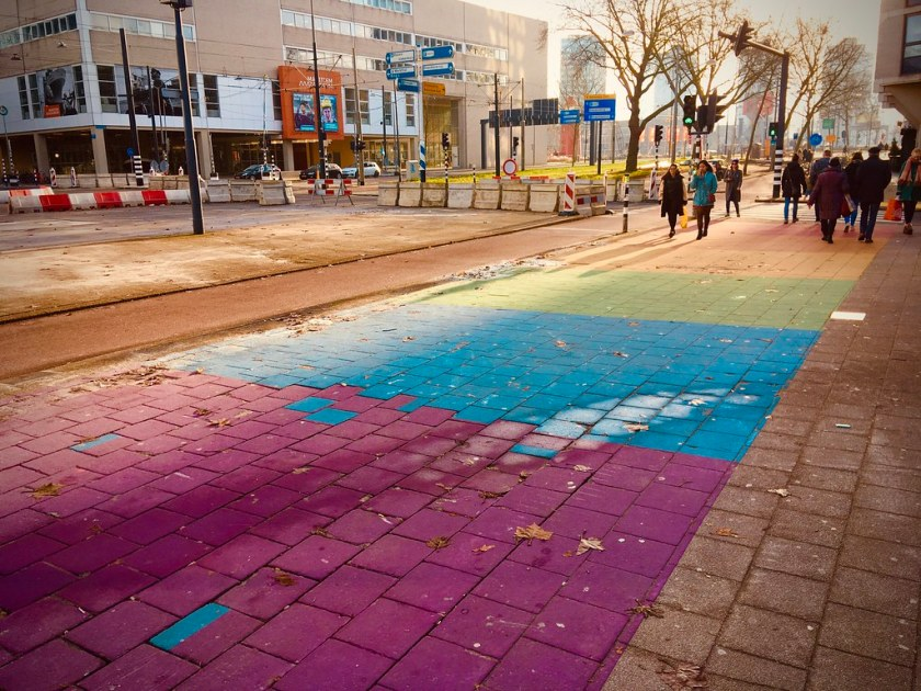 "Rotterdam Daily Photo: December 1st theme day ""Rainbow"""