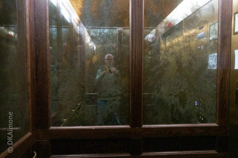 Elevator, Self Portrait