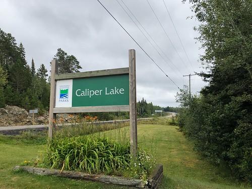 Caliper Lake - Sign