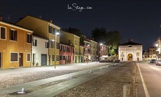 Uno scorcio di fine estate di Porta Portello a Padova 😊