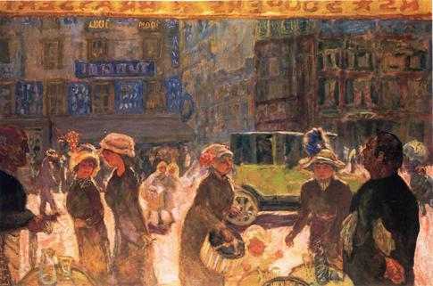 Bonnard Pierre La place Clichy 1912