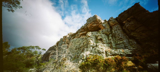 Looking Up on Arapiles