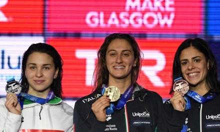 EuroSwim 2019 Glasgow | Italia a trazione rosa nel day2 con Quadarella, Caramignoli e Cocconcelli
