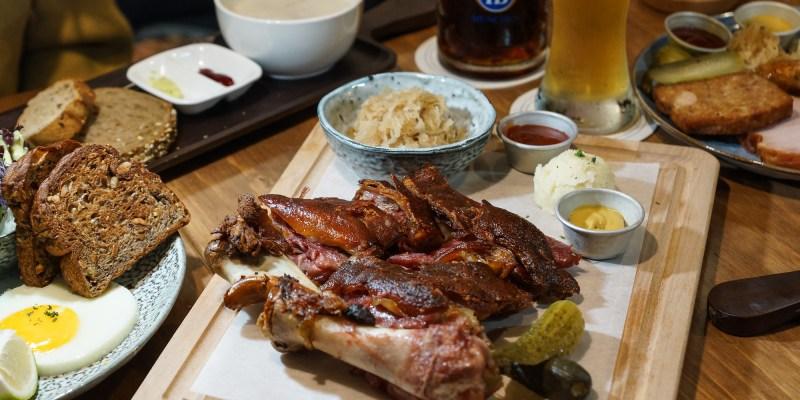 南京復興美食推薦 Schumann's Bistro No. 6舒曼六號餐館南京店:想品嘗道地又好吃的德國豬腳不用想了,直接來這吧!還有德國皇家等級的生啤酒可搭配,多人聚餐首選