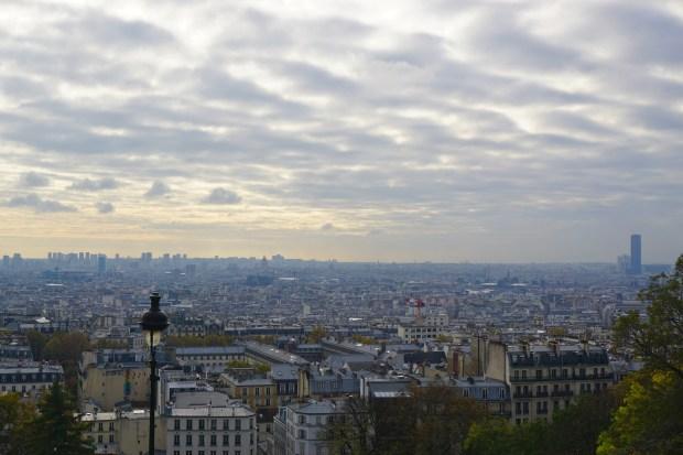 Paris panorama, seen from Sacré-Cœur