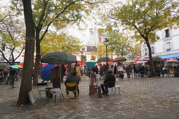 Place du Tertre in Montmartre, Paris