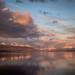 Ultima Esperanza Fjord at sunrise
