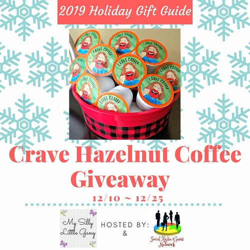 Welcome to the Crave Hazelnut Coffee Giveaway!