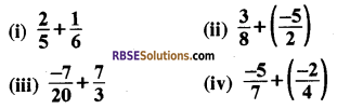 RBSE Solutions for Class 8 Maths Chapter 1 परिमेय संख्याएँ In Text Exercise-02