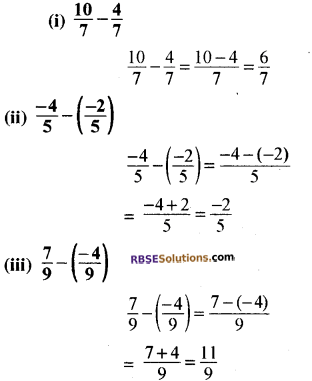 RBSE Solutions for Class 8 Maths Chapter 1 परिमेय संख्याएँ In Text Exercise-03a