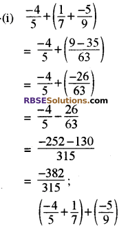 RBSE Solutions for Class 8 Maths Chapter 1 परिमेय संख्याएँ In Text Exercise-13c