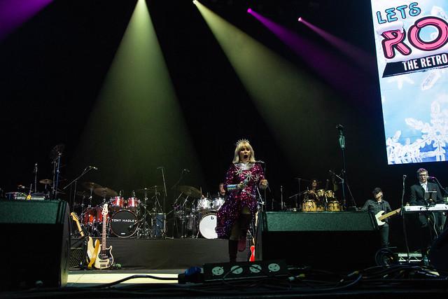 Toyah - Lets Rock Winter Tour SSE Hydro  Glasgow 11th December 2019