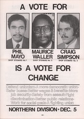 Metro Workers Rank and File Action Caucus – 1978-80