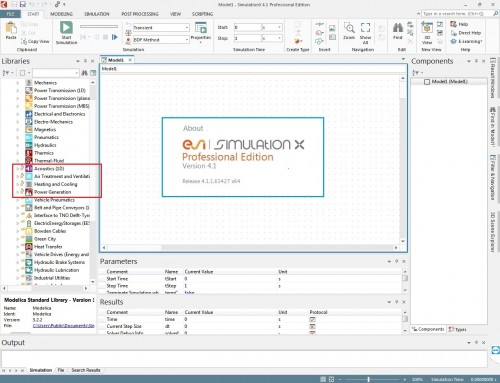 Working with ESI SimulationX v4.1.1.63427 full license