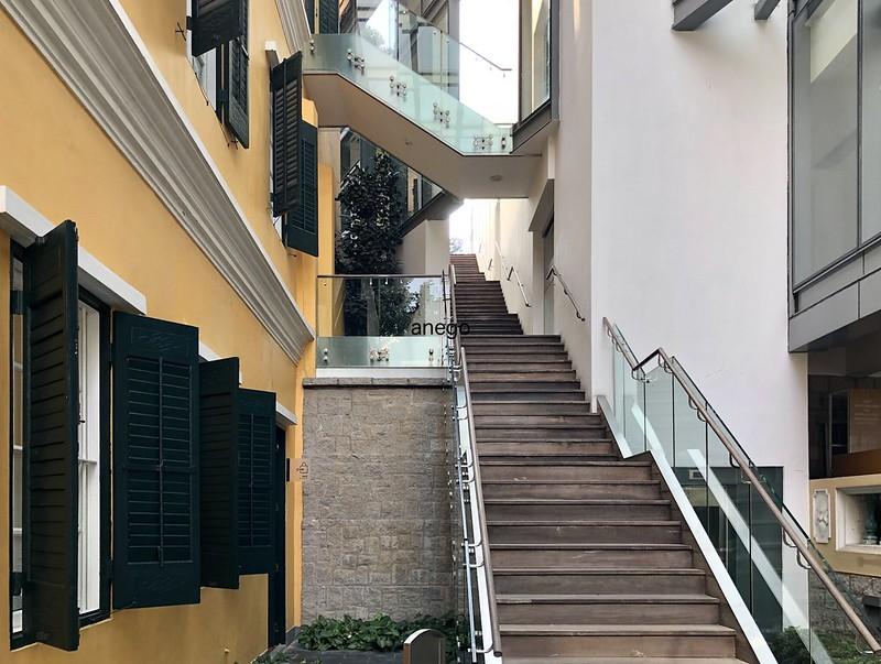 ロバート・ホー・トン 図書館 階段