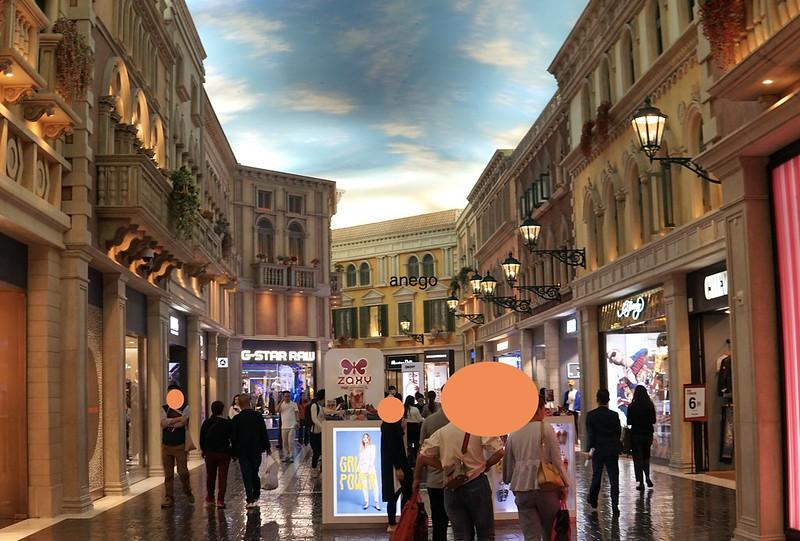 ヴェネチアン 街並み