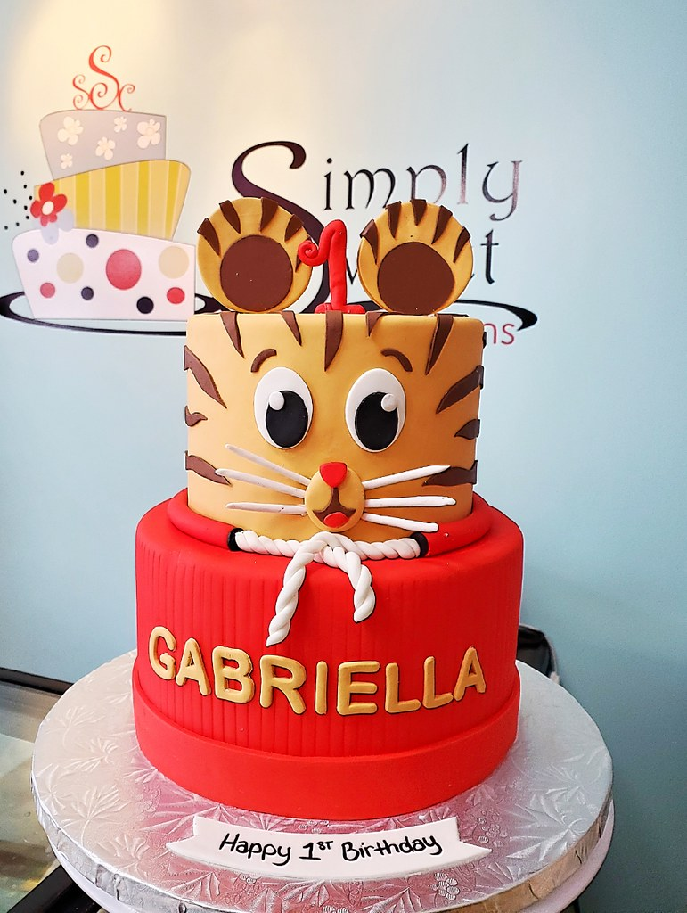 Daniel The Tiger Cake Simply Sweet Creations Flickr